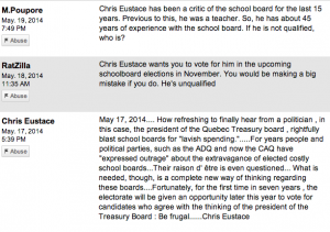 Comments from the CTV News website